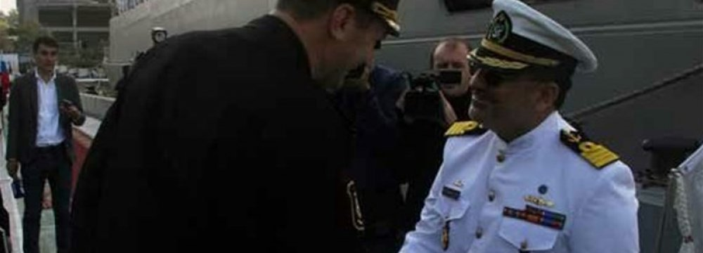 Naval Flotilla Visiting Russia