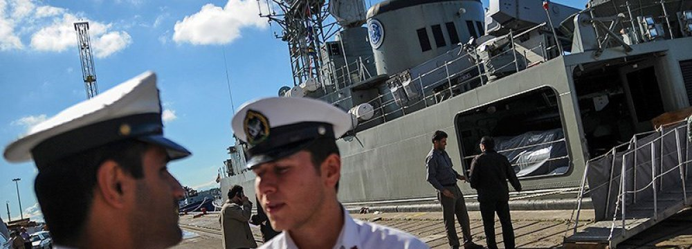 Naval Flotilla Sets Sail for High Seas
