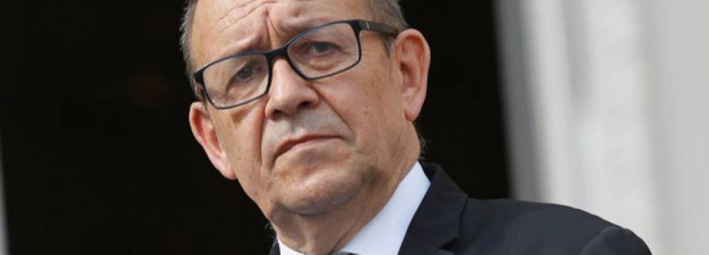 French FM to Visit Soon
