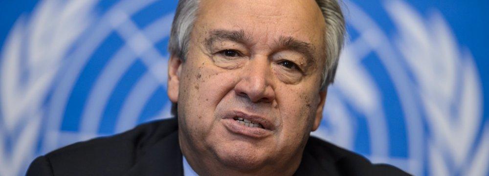 Guterres Keen on Safeguarding JCPOA