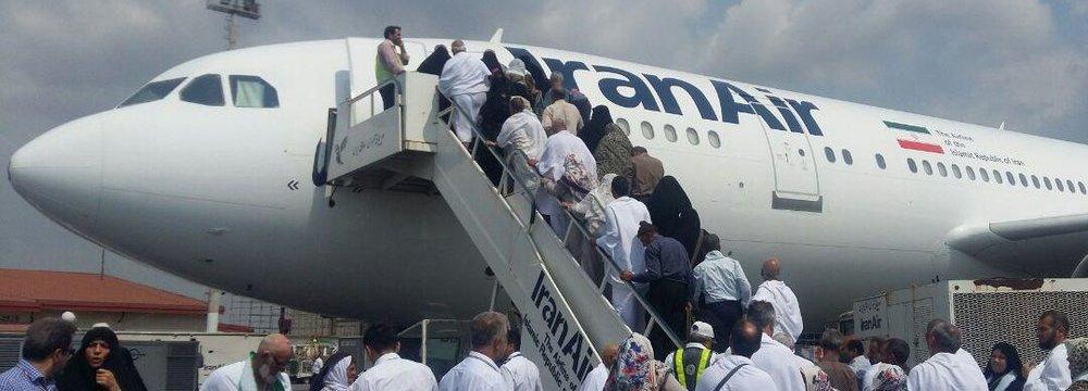 Hajj Flights Commence Today