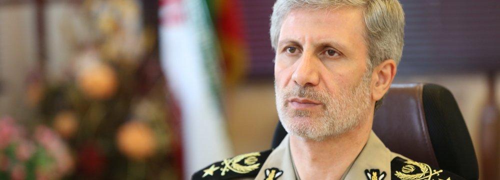 Defense Chief Warns Adversaries
