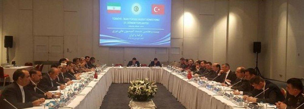 Border Security Talks With Turkey