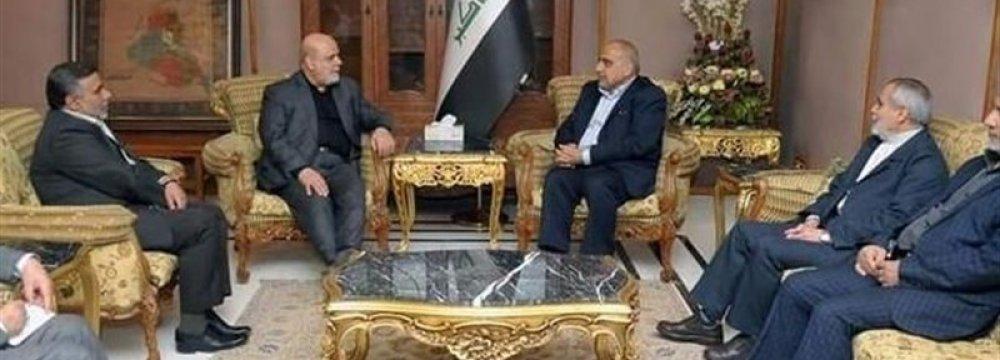 Envoy Meets Iraq's Incoming Premier