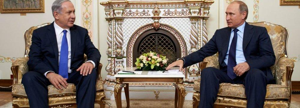 Netanyahu, Putin to Discuss Iran