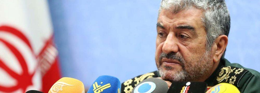 IRGC Ready to Help Establish Lasting Ceasefire in Syria
