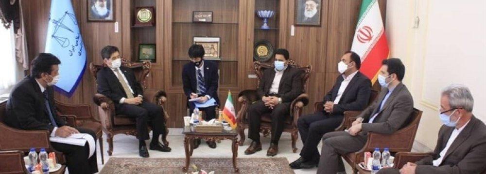 Iran, Japan Aim to Promote Judicial Ties