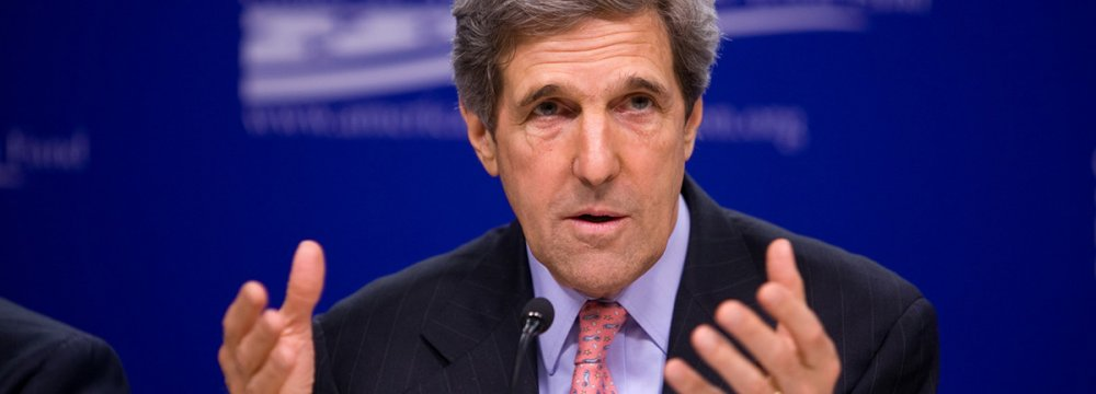 Kerry Again Defends Iran Deal
