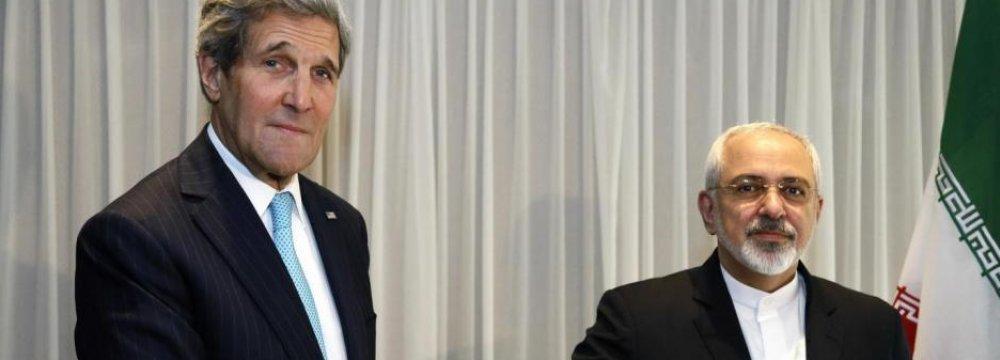 Kerry Dismisses Trump, Pompeo Criticism Over Zarif  Meetings