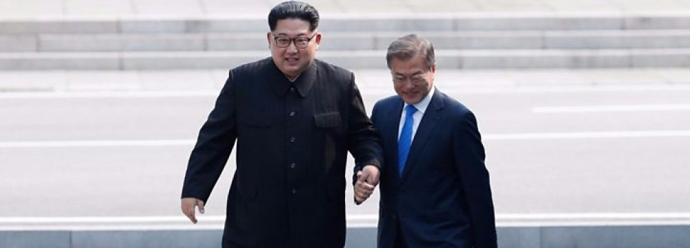 US Not After Korean Peace