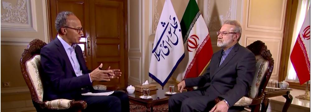Larijani: JCPOA Was No Mistake