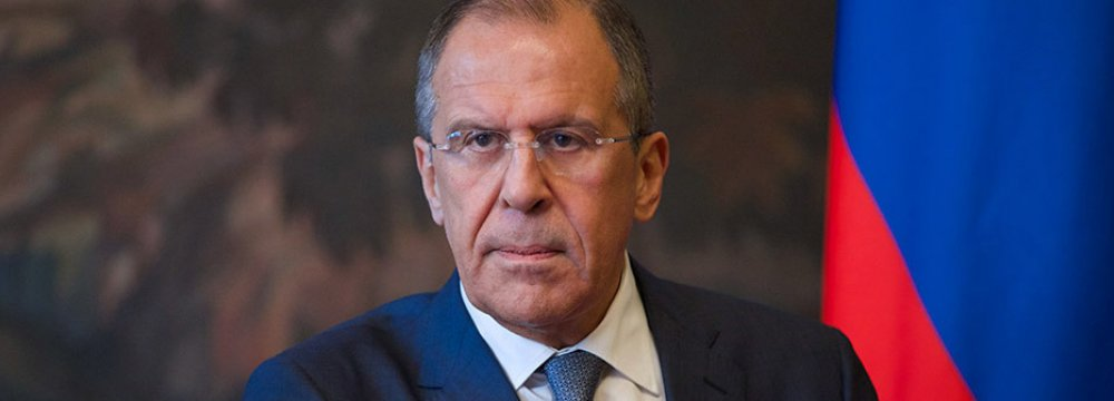 Lavrov: US Anti-JCPOA Stance Makes N. Korea Wary
