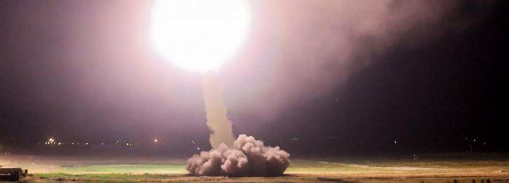 Missile Strike on IS Permissible Under Int'l Law