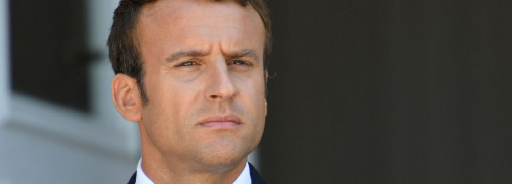 Macron Hopes Trump Will Return to Nuclear Talks