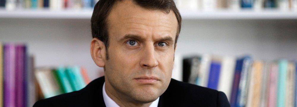 Macron Unsure of Trump Sticking to JCPOA