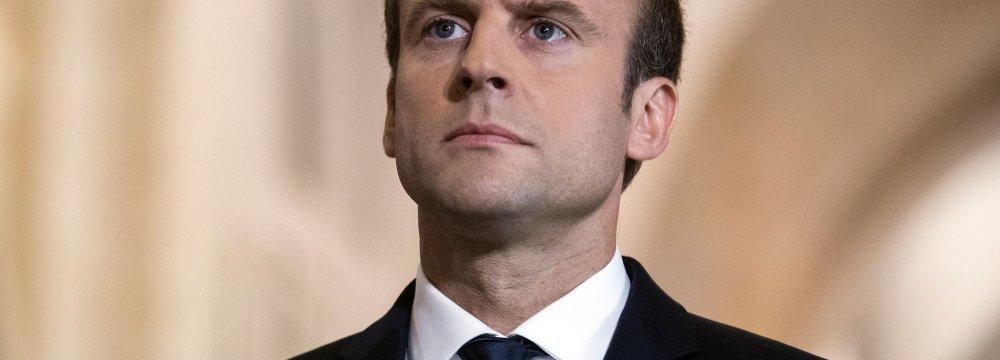 Macron Mulls Visit to Iran