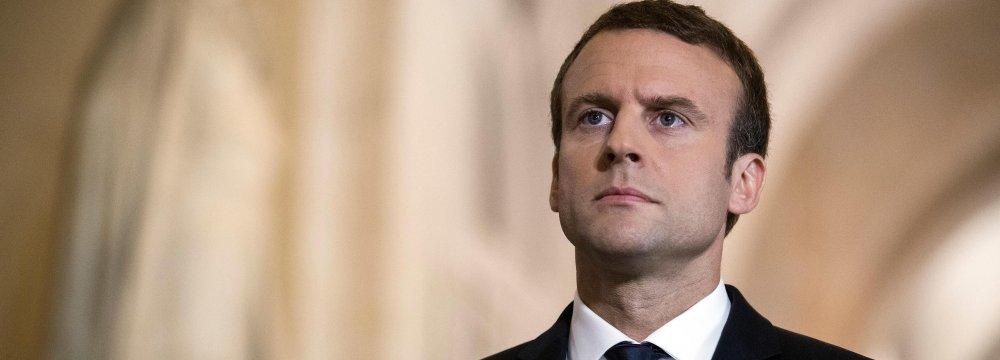 Macron: Nuclear Deal Bedrock of Mutual Coop.
