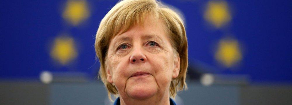 Merkel Reiterates European Efforts to Uphold JCPOA