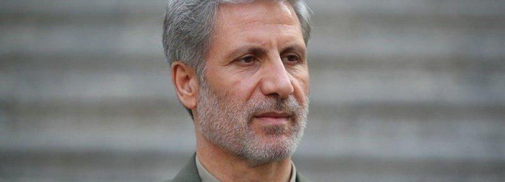 Defense Minister in Iraq