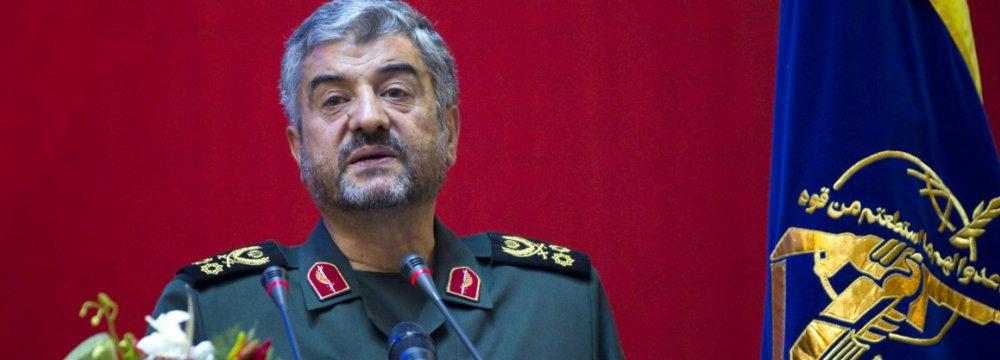 IRGC Chief Warns Hostile Powers