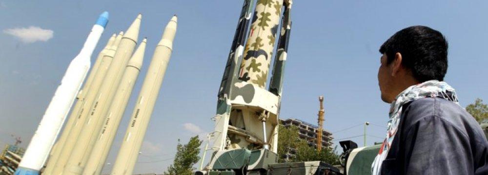 No Cut Back on Missile Program