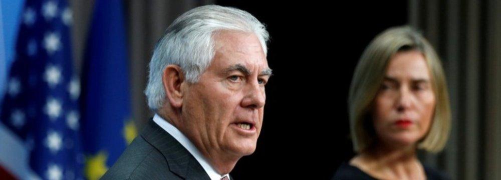 EU Cautions US Against Quitting JCPOA