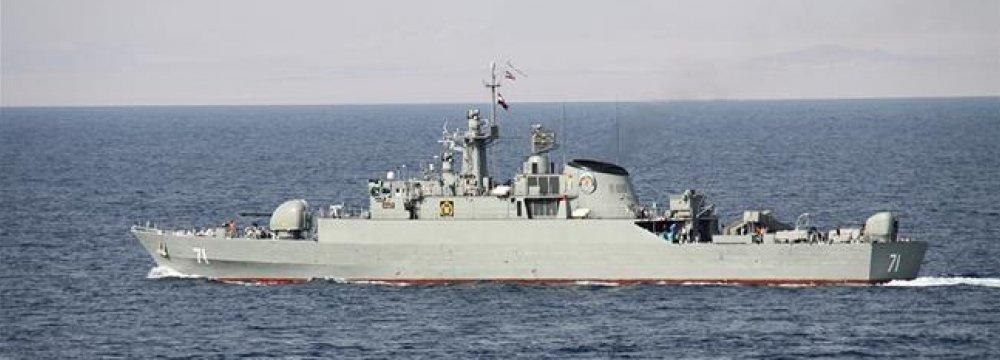 Navy Boosting Mandeb Security