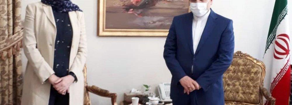 Iran, Norway Discuss Regional Coop.