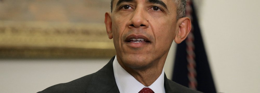 Obama Extends National Emergency on Iran