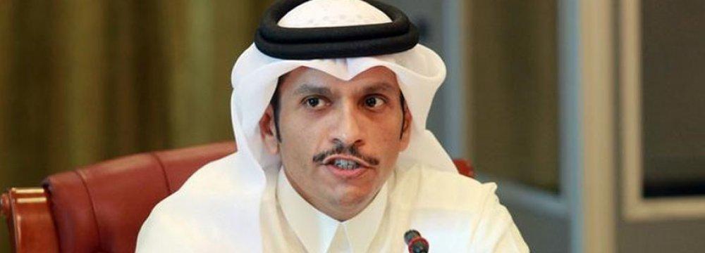 Qatar Urges De-Escalation in Iran-US Row
