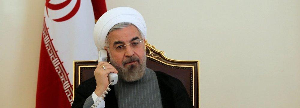Rouhani, Qatari Emir Discuss Regional Security