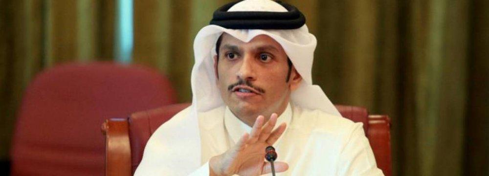 Qatar: US Oil Sanctions on Iran Unwise