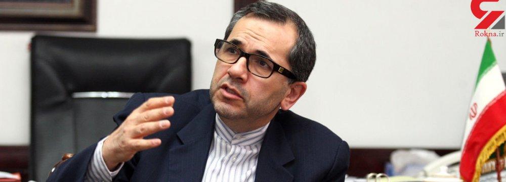 UN Envoy: War Not an Option for Iran