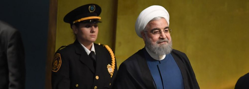 Rouhani Turned Down Meeting With Trump