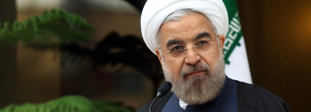 Rouhani Reaffirms Commitment to Int'l Engagement