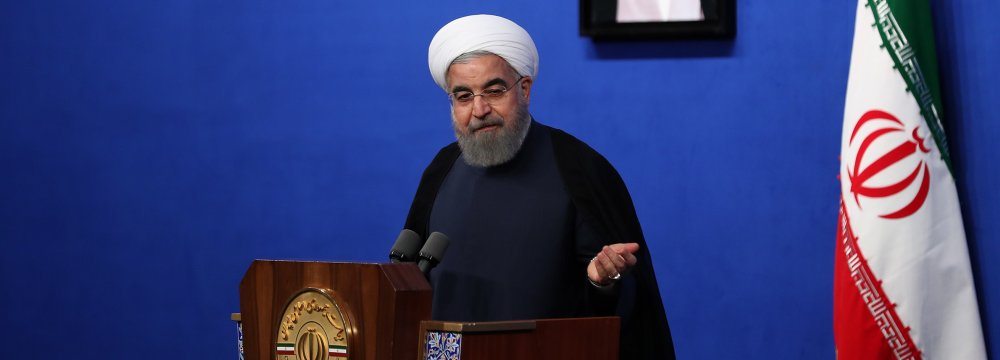 Rouhani: IRGC Attack on IS Was Necessary