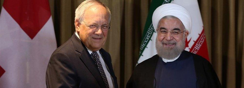 Economic Coop. High on Rouhani's Agenda in Vienna