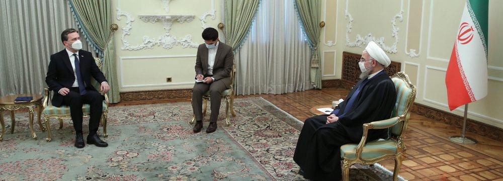 Call for Enhancing Tehran-Belgrade Ties