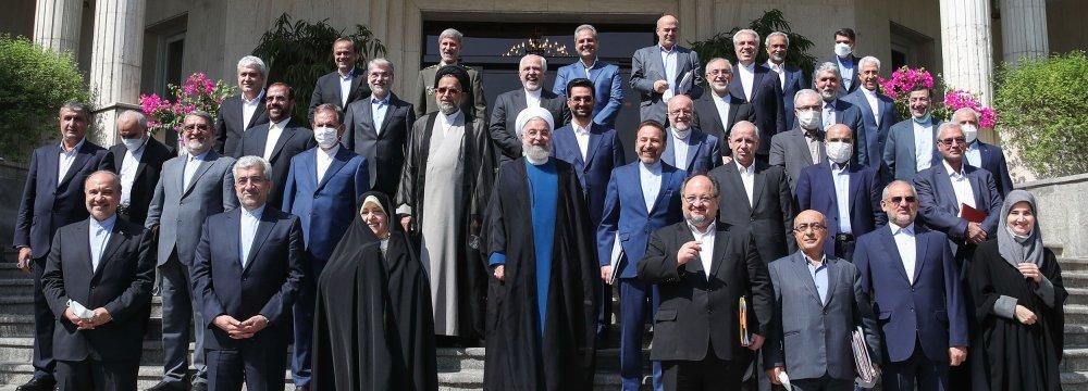 Cabinet Convenes Last Meeting Under Rouhani