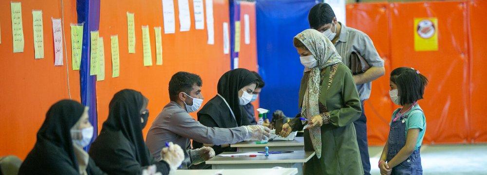 Runoff Parliamentary Vote Held Amid Pandemic
