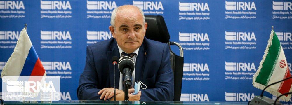 Russian Envoy Optimistic on Tehran-Moscow Ties
