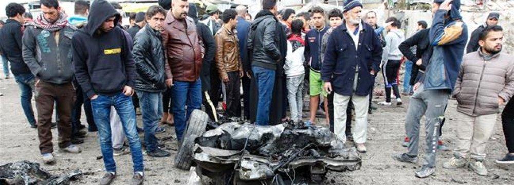 Iraq Terror Attack Denounced