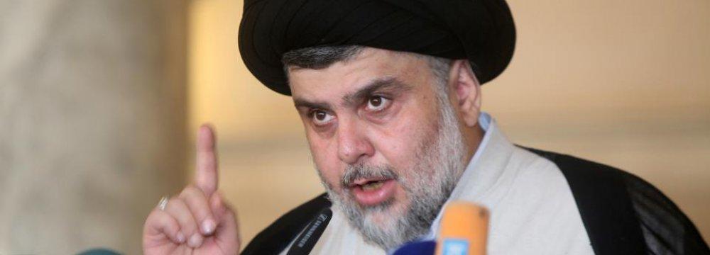 Iraq's Sadr Urges Tehran-Riyadh Dialogue