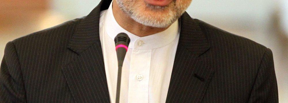 Salehi in Vienna for IAEA Confab