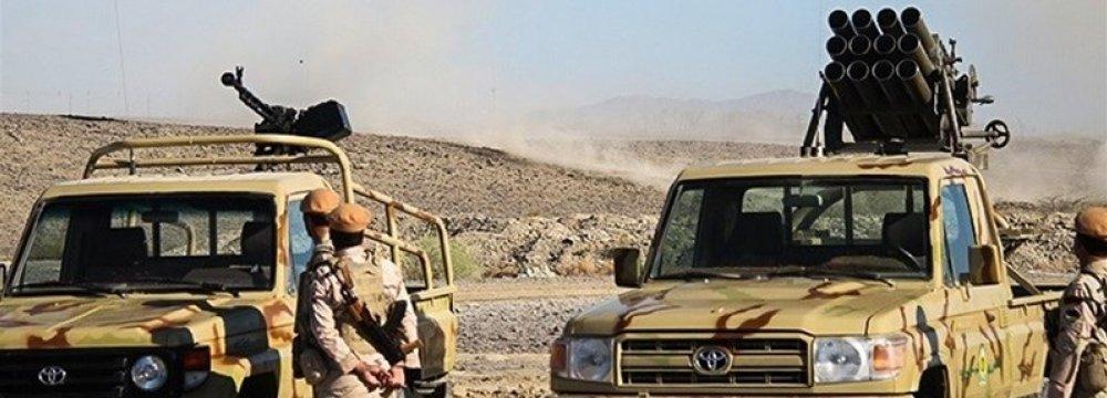 Terrorist Arms Depot Raided in Sistan-Baluchestan