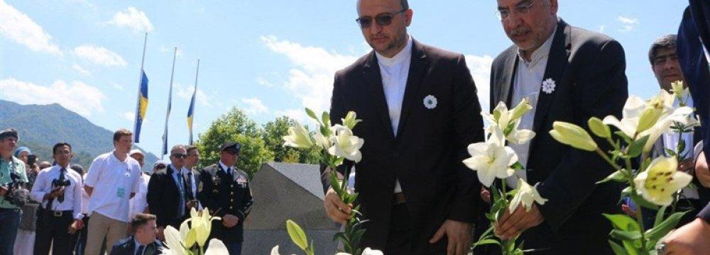 Envoys Attend Commemoration of Srebrenica Massacre