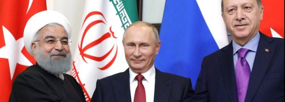 Turkey, Russia, Iran Presidents to Meet on Syria