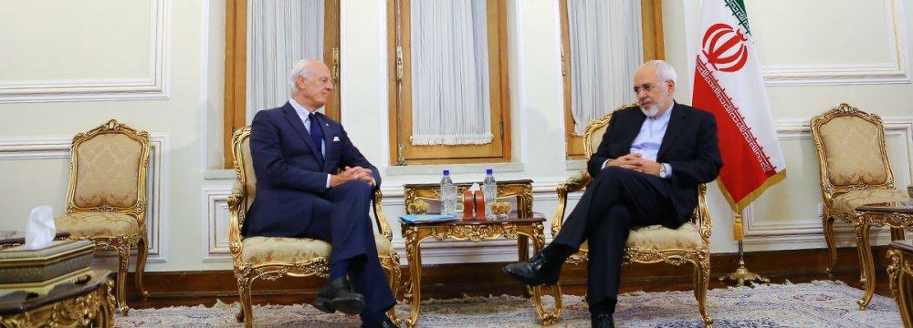 UN Syria Envoy Upbeat on Astana Talks