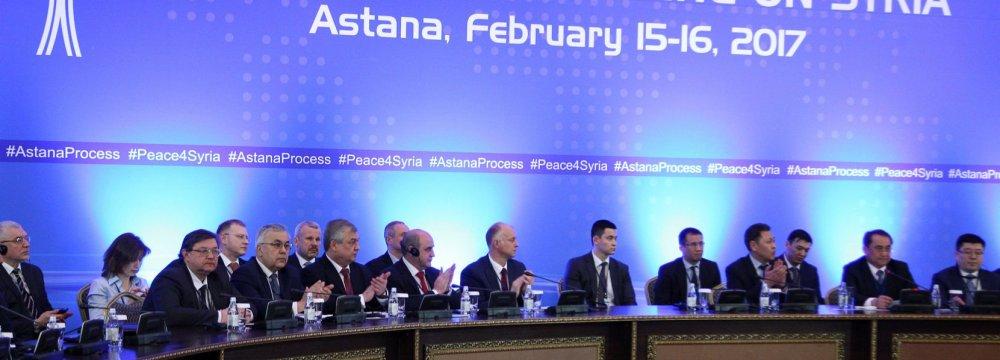 Third Round of Syria Talks Underway in Astana