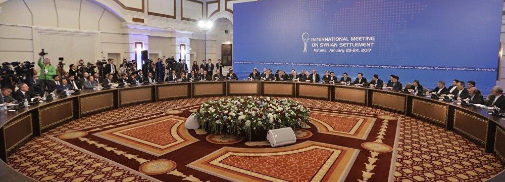 Iran to Attend Astana Talks on Syria